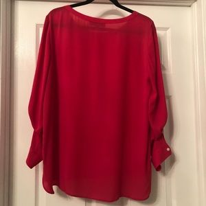 LOFT Tops - Long Sleeve Blouse with sleeve button